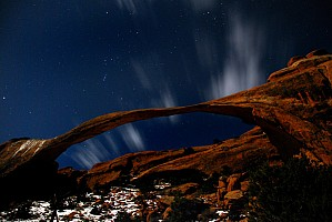 Moon Lit Arch