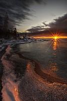 Sunrise, Tellegouche State Park, MN