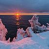 Tettegouche Winter Sunrise