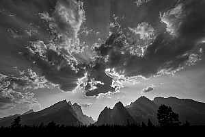 Cascade Canyon Clouds