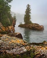 Red Rock Fog