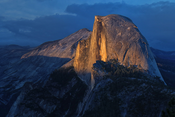 General Category - First Place: Sunset at Half Dome
