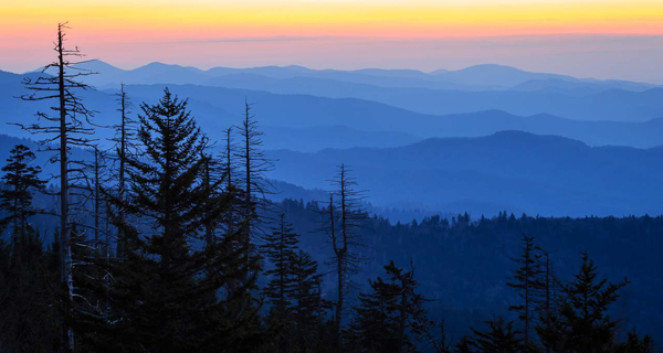 General Category - First Place: Sunrise - Smokies